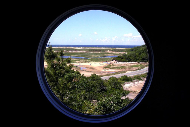 A Porthole View of Summer Life