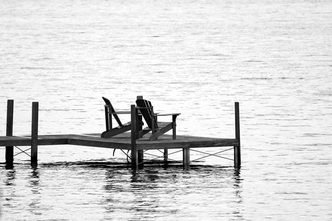 Place to Sit, Lake Winnepasaukee, New Hampshire