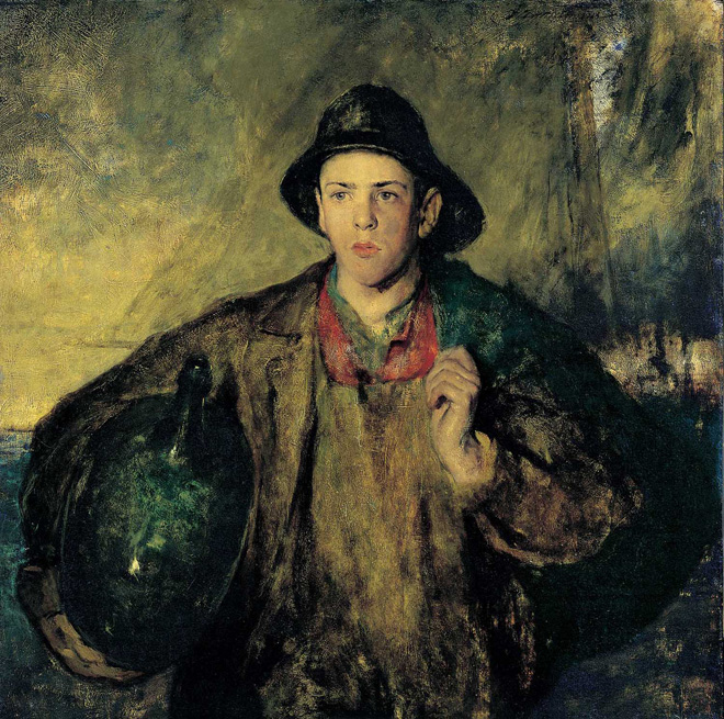 The Fisher Boy, 1908 by Charles W. Hawthorne (1872–1930)