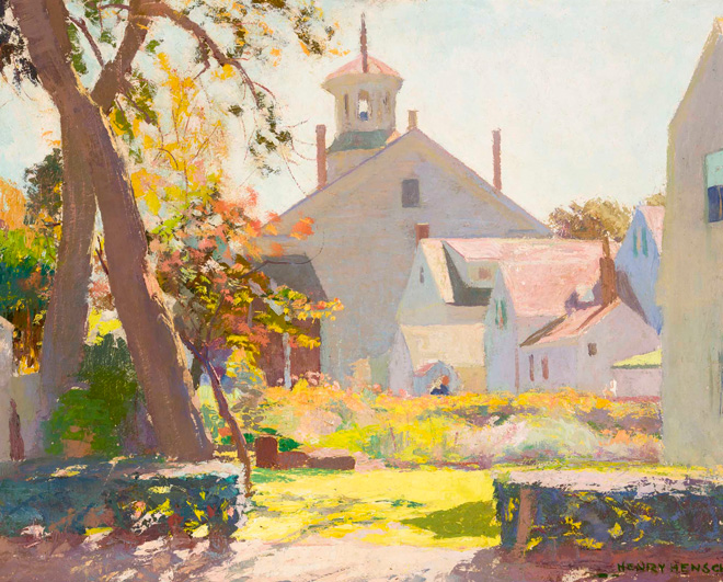 Untitled (Provincetown Scene), by Henry Hensche (1901–1992)