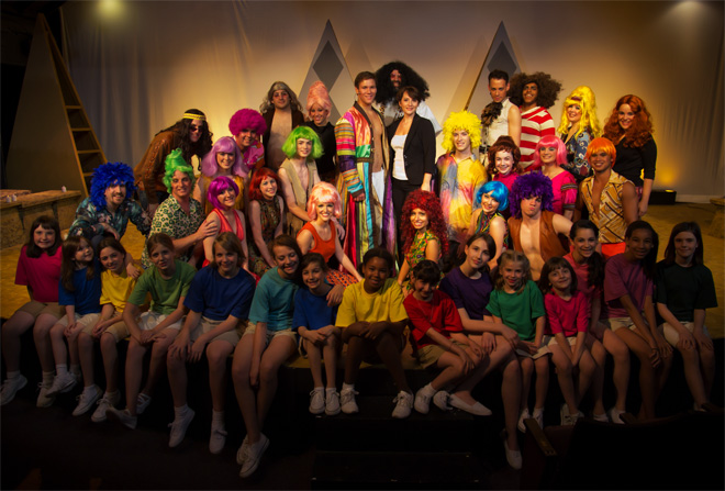 The Large Impressive Cast of Joseph