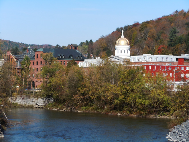The Winooski River and the Capital