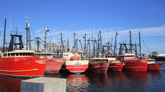 """The Mighty Fleet"", New Bedford Harbor"