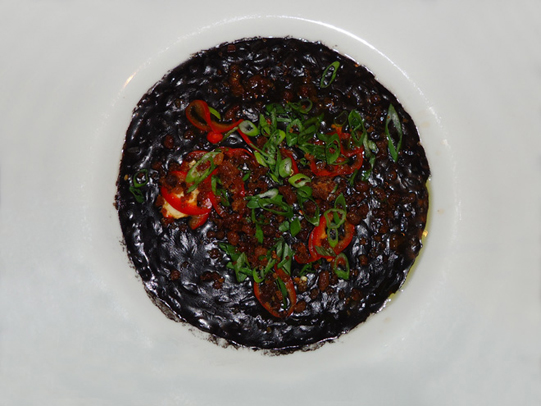 Black Ink Squid Risotto